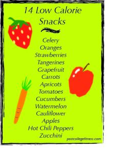 14 low calorie snacks, negative calorie foods, low calorie foods, diet snacks