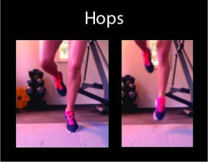 hops, calf workout, calf exercises, lower leg workout